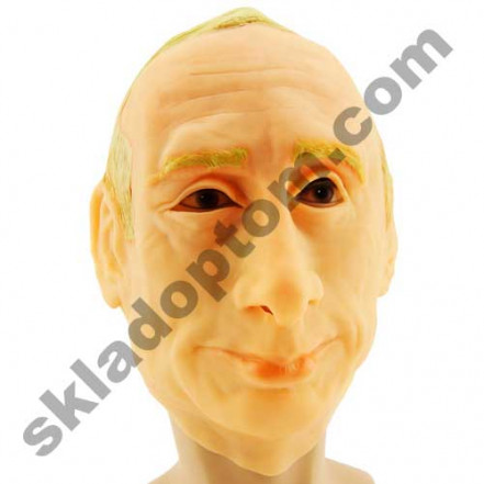 Маска резиновая Путин