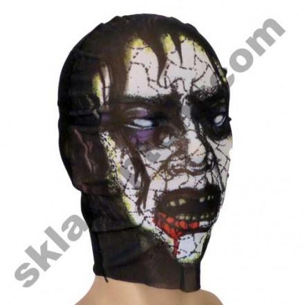 Маска чулок Зомби с фиолетовыми глазами