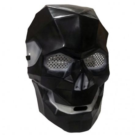 Маска Киборг череп (черный)