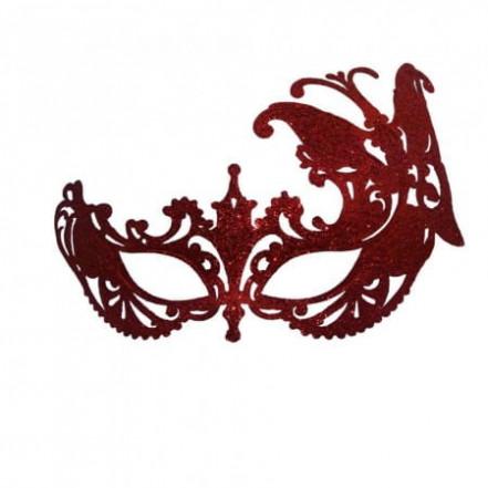 Венецианская маска Баттерфлай (красная)