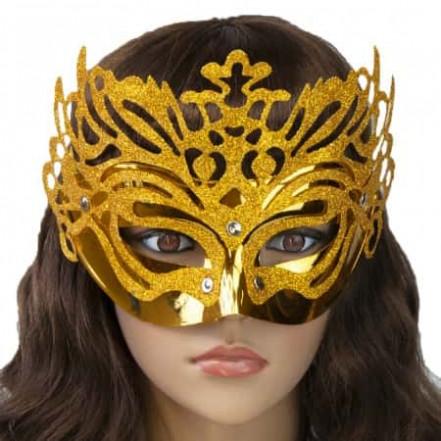 Венецианская маска Изабелла (золото)
