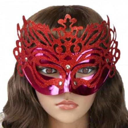 Венецианская маска Изабелла (красная)