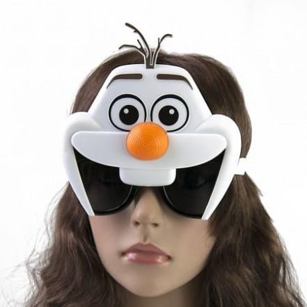 Очки Олаф снеговик Эльзы
