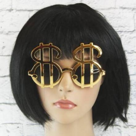 Очки Доллары (золото)