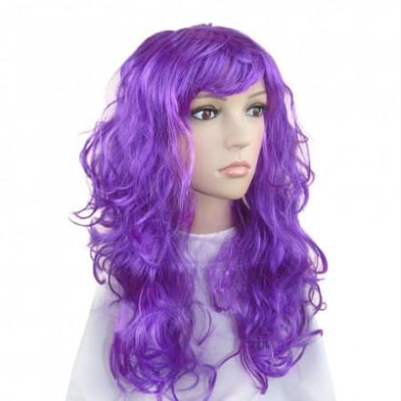 Парик Волнистый (фиолетовый)
