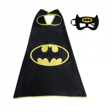 Маскарадный плащ с маской Бэтмен