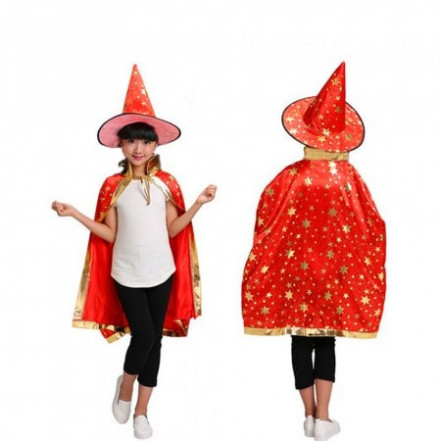 Маскарадный костюм Волшебник (красный)