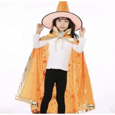 Маскарадный костюм Волшебник (оранжевый)