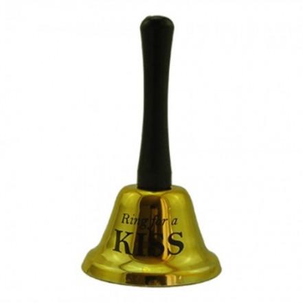 Колокольчик KISS (золото)