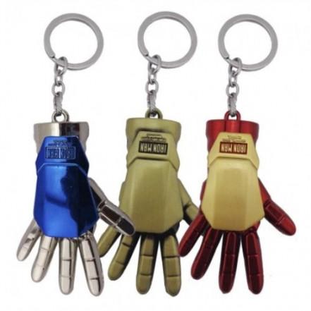 Брелок СГМ 5025 объемный Рука Железного человека (золото)