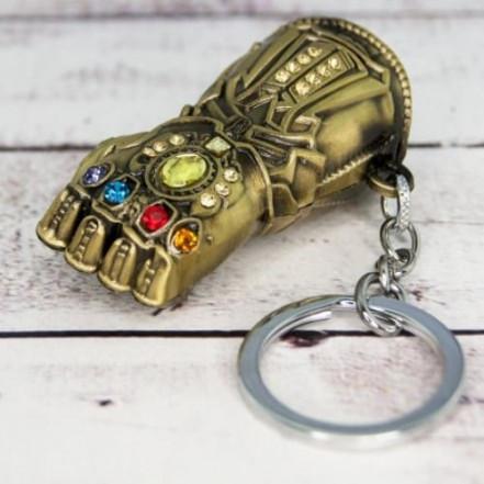 Брелок СГМ 5018 объемный Мстители Перчатка бесконечности
