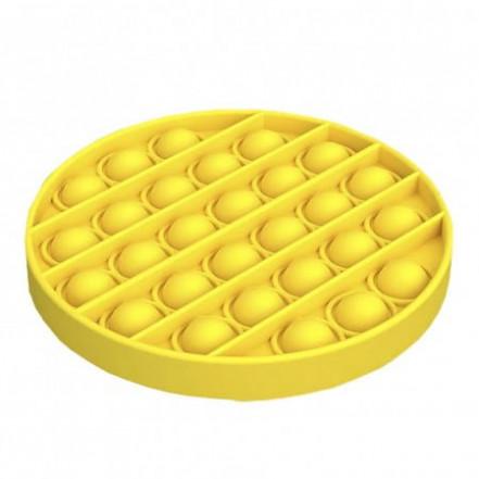 Антистресс игрушка Pop It Круг желтый
