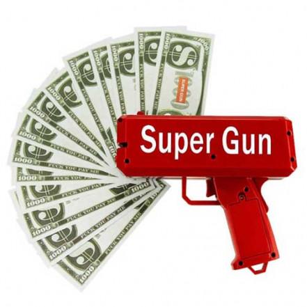 Денежный пистолет Cash Cannon