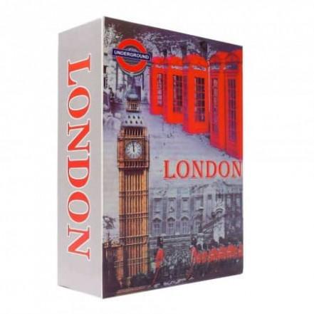 Книга-сейф Лондон (24см)