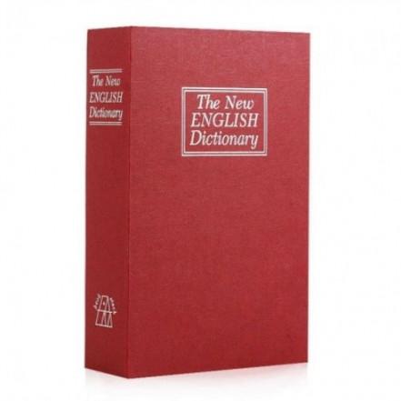 Книга-сейф (24см) Словарь бордовый