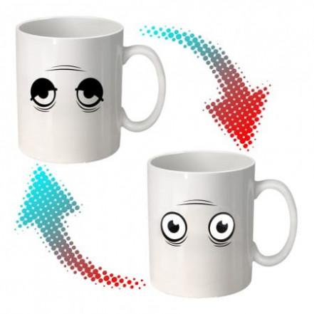 Чашка хамелеон Просыпайся! 9009-4