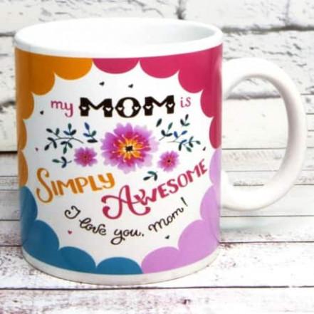 Кружка Лучшей маме Simply Mom