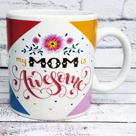 Кружка Лучшая мама на свете Awesome Mom
