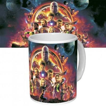 Чашка с принтом 63311 Империя Марвел