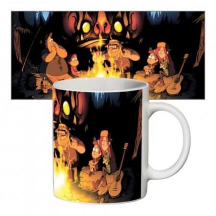 Чашка с принтом 63402 Gravity Falls №2