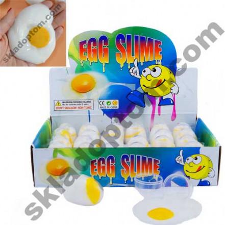 Лизун слим Яйцо