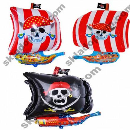 Шарик (65см) Пираты