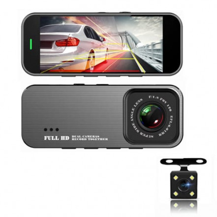 "Автомобильный видеорегистратор 701, LCD 3.19"", 1080P Full HD, Parking Monitor, металл. корпус"