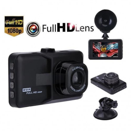 Автомобильный видеорегистратор DVR 626, 1080P Full HD**