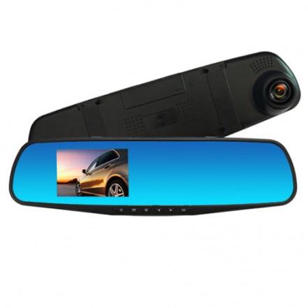Автомобильный видеорегистратор-зеркало L-9001, 3,5'', 1080P Full HD