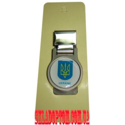 Зажим для денег USK 86 (Герб Украины)