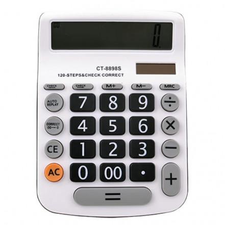 Калькулятор CT-8898S-12, двойное питание