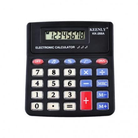 Калькулятор Keenly KK-268A - 8, музыкальный