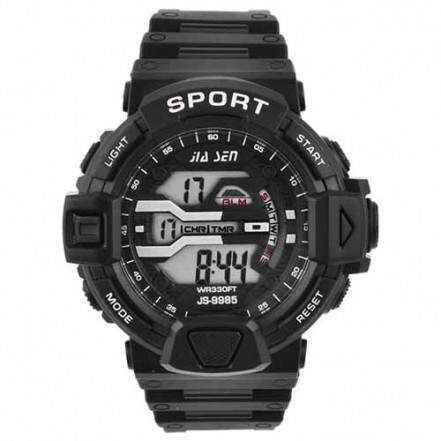 Часы наручные JS-9985, электронные, с подсветкой