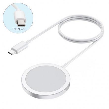 Беспроводное зарядное устройство MagSafe Charger 15W/A2140, 100% копия, Type-C