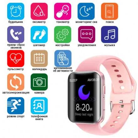 Smart Watch T68, температура тела, голосовой вызов