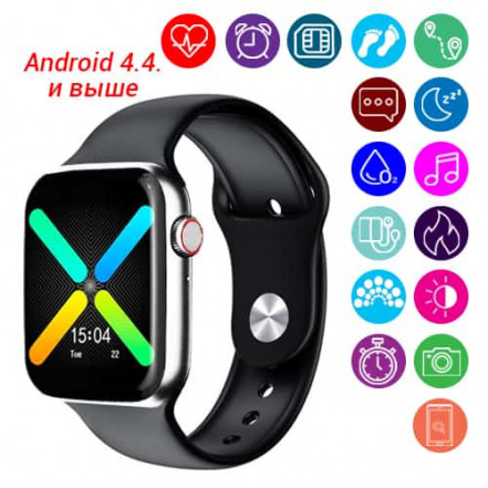 Smart Watch C500 Plus, Sim card, color