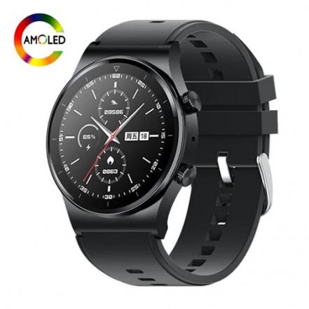 Smart Watch M46, голосовой вызов, IP67, AMOLED screen, black