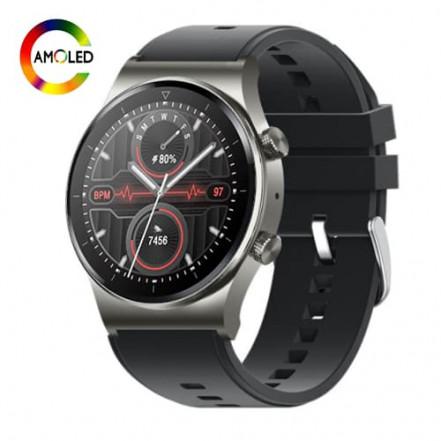 Smart Watch M46, голосовой вызов, IP67, AMOLED screen, grey