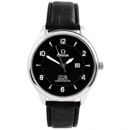 Часы наручные 4213 Omega Black S-Bk (копия)