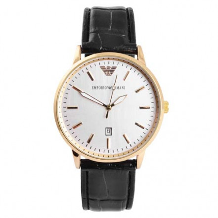 Часы наручные 4297-1 Emporio Armani White G-Bk (копия)