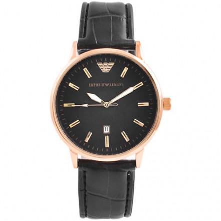 Часы наручные 4297-1 Emporio Armani Black G-Bk (копия)
