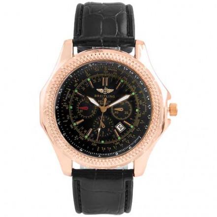Часы наручные 6098 Breitling Black G-Bk (копия)