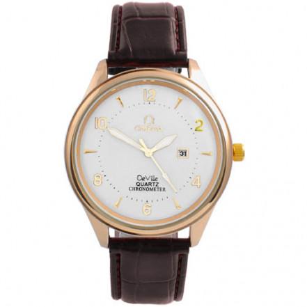Часы наручные 4213 Omega White G-Br (копия)