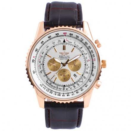 Часы наручные 5074T Breitling White G-Br (копия)