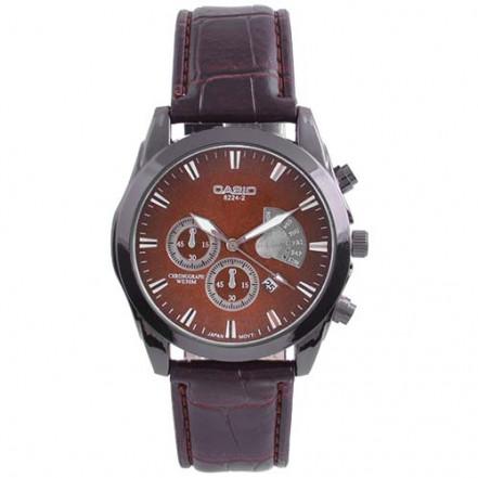 Часы наручные 6112/8224-2 Casio Brown Bk-Br (копия)