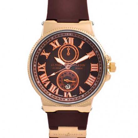 Часы наручные 6600B Ulysse Nardin Brown G-Br (копия)