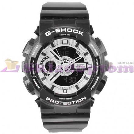 Часы наручные G-SHOCK GA-110 Black-Silver