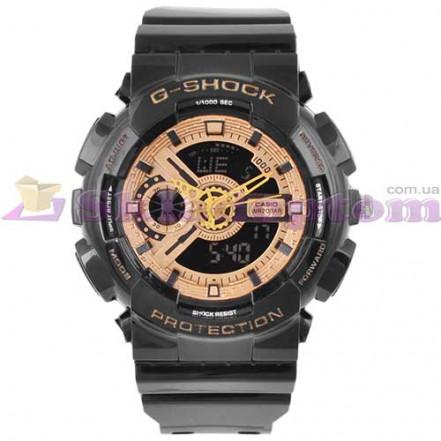 Часы наручные G-SHOCK GA-110 Black-Gold