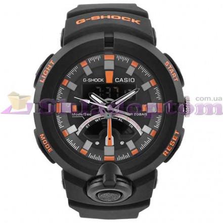 Часы наручные G-SHOCK GA-500 Black-Orange, BOX