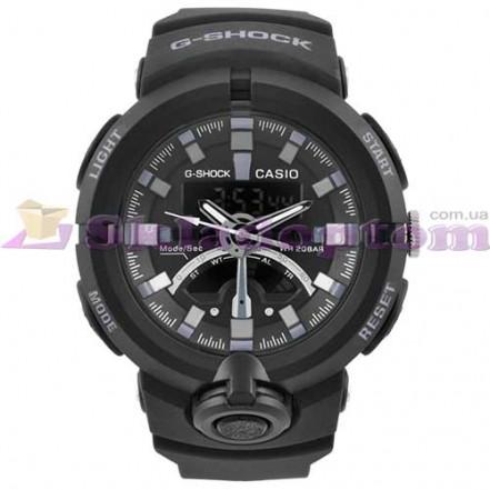 Часы наручные G-SHOCK GA-500 Black-Silver